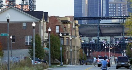 Detroit, a city still on the rebound, hosts World Series