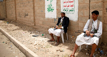 Yemen's 'Death to America' rebels bring calm to northern Yemen
