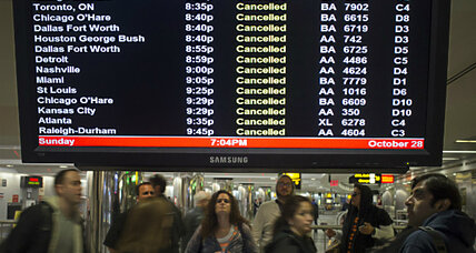 Hurricane Sandy: what to do if you're on one of the 9,000 canceled flights