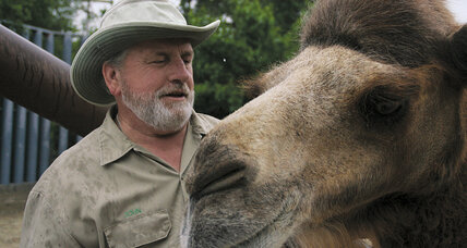 John Bergmann runs a special zoo for older, exploited, and abused animals