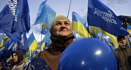 Ukraine elections confirm divisions over Russia, Europe