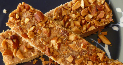 Cinnamon nut crunch shortbread