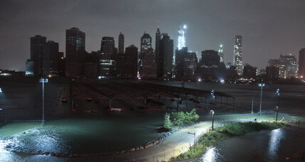 Hurricane Sandy: Storm surge floods NYC tunnels, cuts power to city