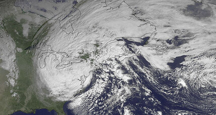 Did global warming cause superstorm Sandy?