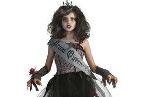 Happy Halloween  not! Gory, sexual costumes turn Mom off