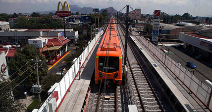 Mexico City's new subway line to cut down on commute, pollution