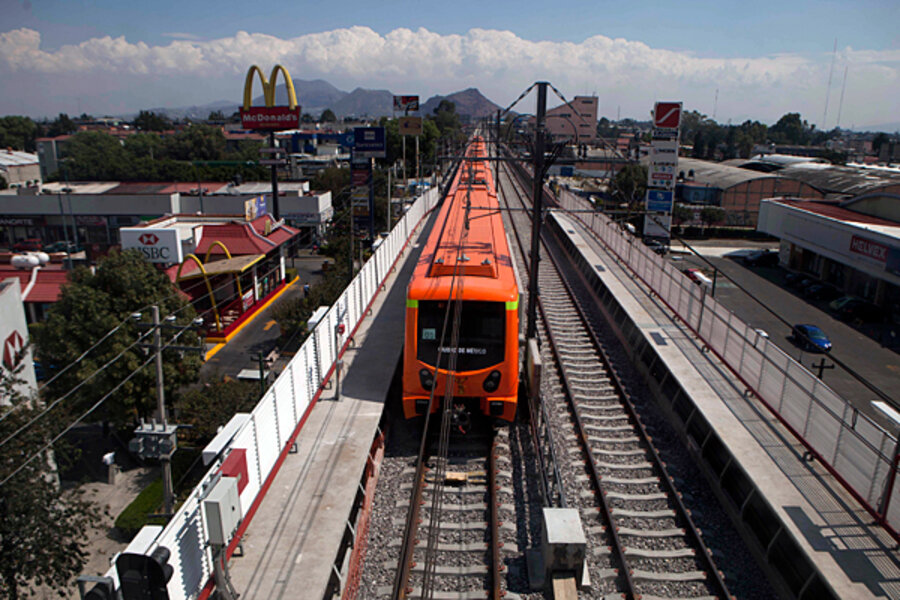 Mexico City U0026 39 S New Subway Line To Cut Down On Commute
