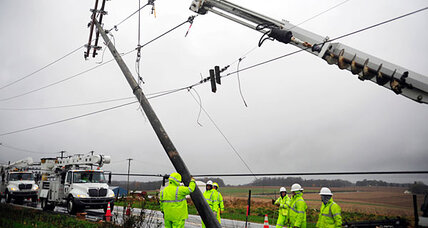 Hurricane Sandy power outages: signs of progress in some states