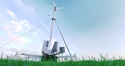 Green technologies: Portable wind turbine promises off-grid power