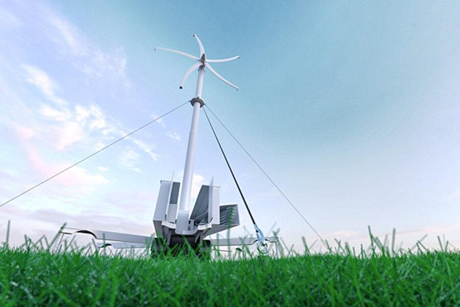 绿色技术:便携式风力涡轮机承诺提供离网发电...