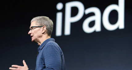 Apple CEO blames rumor-mill for underwhelming iPad sales