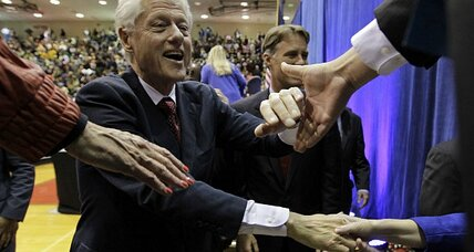Bill Clinton's back in the campaign game big time