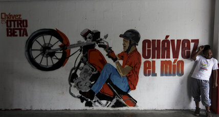 A Venezuelan art group tries to win youth votes for Chávez