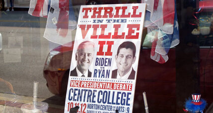 Danville, Kentucky sees upside in hosting Vice Presidential debate