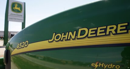 Woman sues Deere over racial slurs