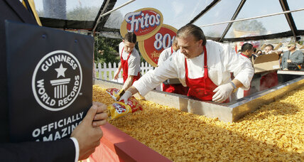 World's largest Fritos Chili Pie
