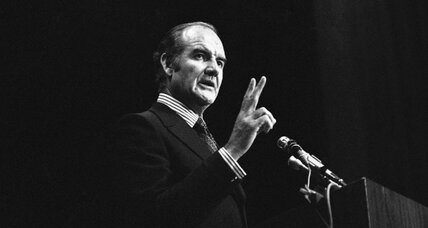 George McGovern: A war hero who fought for peace