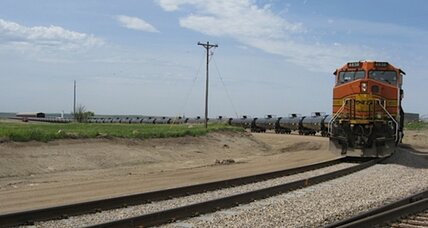North America's oil bonanza creates a railroad boom