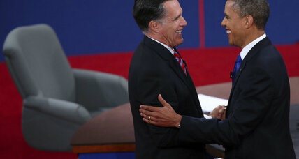 In presidential debate, President Obama is no dove, and Mitt Romney is no hawk (+video)