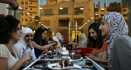 Incubating women's businesses in the Palestinian territories