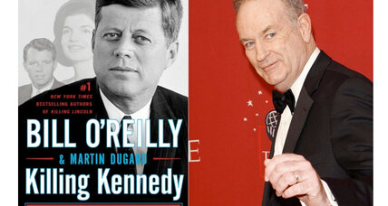 Bill O'Reilly returns to presidential assassinations with his new book 'Killing Kennedy'
