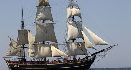 The story behind the HMS Bounty, sunk by Sandy off N.C. coast