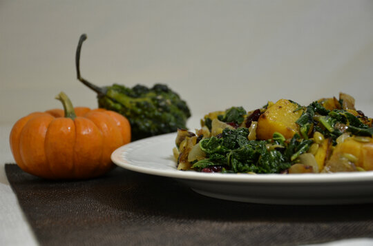 pumpkin recipes - Roasted butternut squash with toasted pumpkin seeds ...