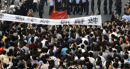 China's middle class protests chemical plant, and win