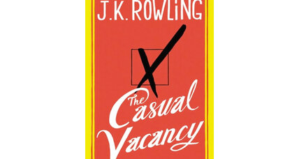 'Casual Vacancy' + two more noteworthy fall novels