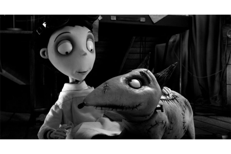 Frankenweenie Is A Return To Tim Burton At His Best Csmonitor Com
