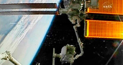 International space station veers to avoid space junk