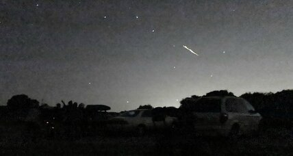 'Beetlejuice' sparks? Meteor shower brings 'shooting stars' and 'earthgrazers'