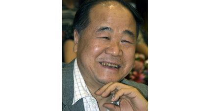 Chinese writer Mo Yan wins the Nobel Prize for literature