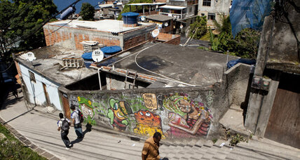 Rio's slums attract young, hip European immigrants looking for cheap housing