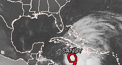 Tropical storm Sandy closes Jamaica airports