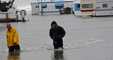 Hurricane Sandy is already setting records (+video)