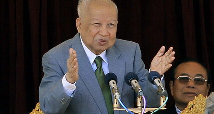 Cambodia's political Houdini, former King Sihanouk, dies