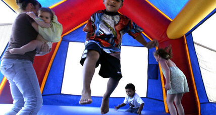 Bounce house injuries to kids rise dramatically