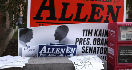 Virginia Senate race: Why Tim Kaine, George Allen vie for bipartisan mantle