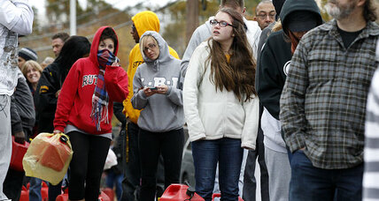 After Sandy, residents 'feeling anxious' about fuel supplies (+video)
