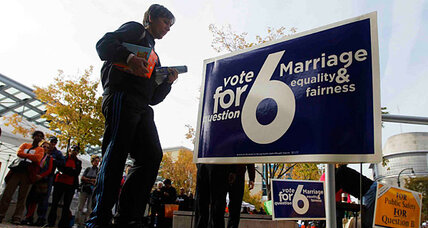 How Maryland's gay marriage vote could echo beyond blue states