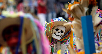 Day of the Dead: Mexicans mourn loved ones