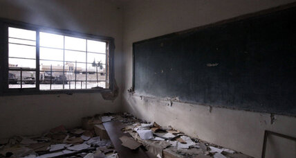 For some Syrian rebels, keeping classrooms open is key to fighting Assad