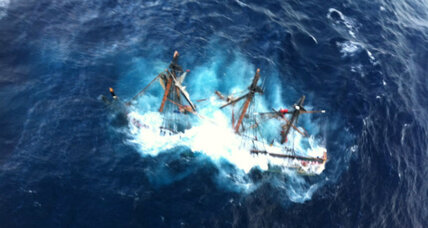 Coast Guard concludes HMS Bounty captain went down with ship