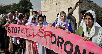 What recourse do Pakistan's 'civilian drone victims' have?