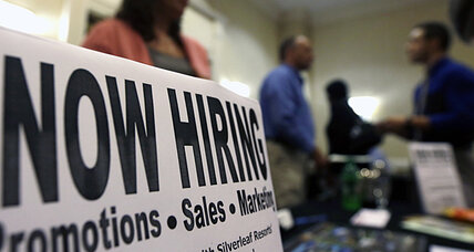 Employment report: more jobs, less pay