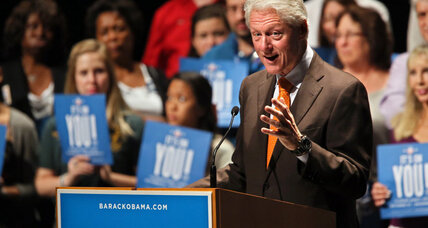 Campaign 2012: Is Obama betting it all on Bill?