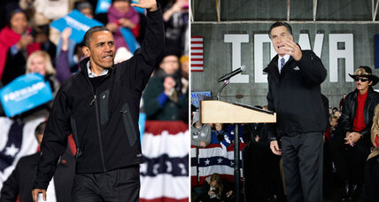 Polls show a dead heat. So why so many predictions of an Obama win? (+video)