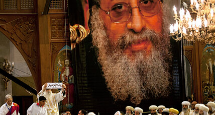 Egypt's new Coptic pope faces charged political scene