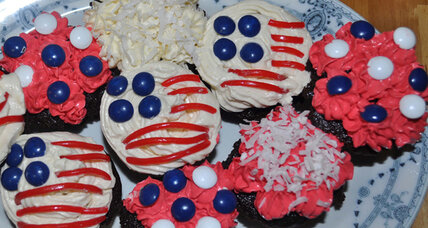 Election night cupcakes